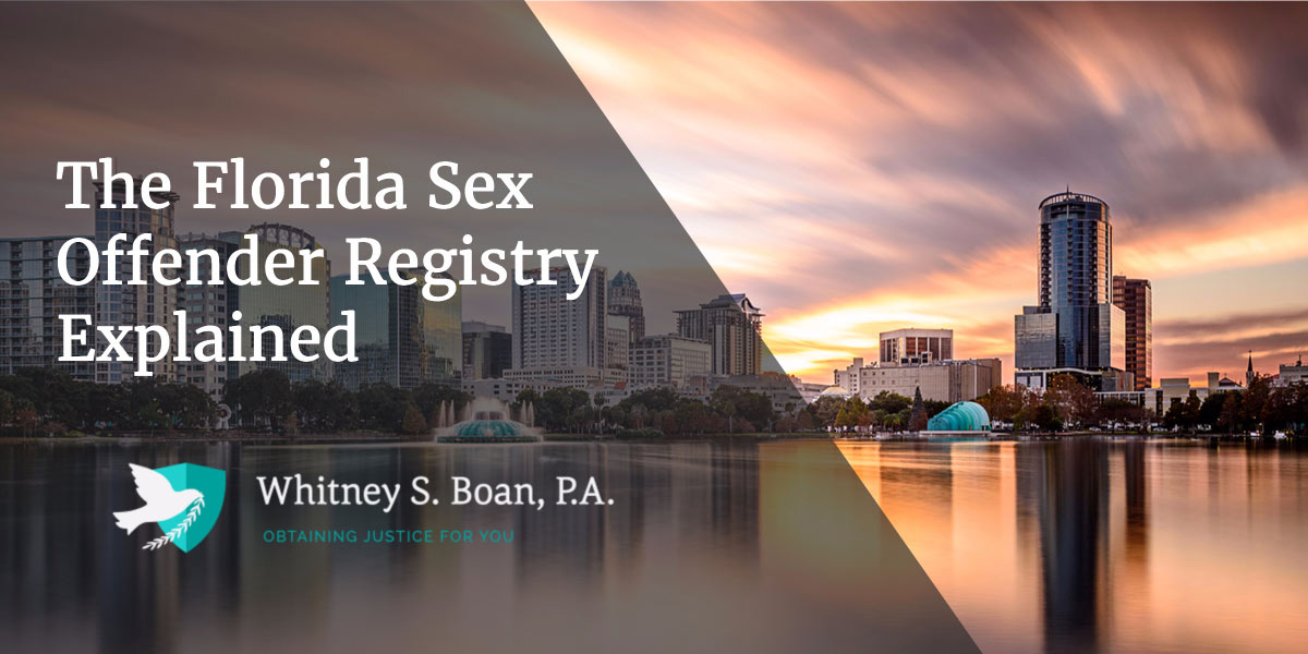 The Florida Sex Offender Registry Explained