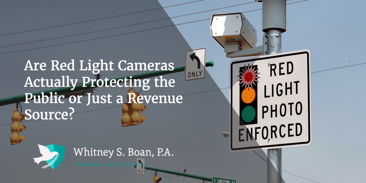Are Red Light Cameras Actually Protecting the Public or Just a Revenue Source?